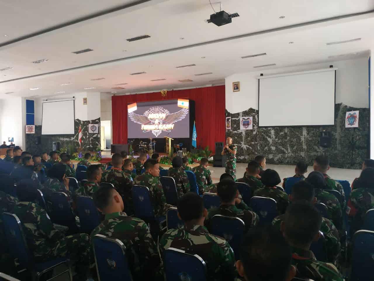 850 Calon Peacekeepers PBB IKuti Pre Deployment Training