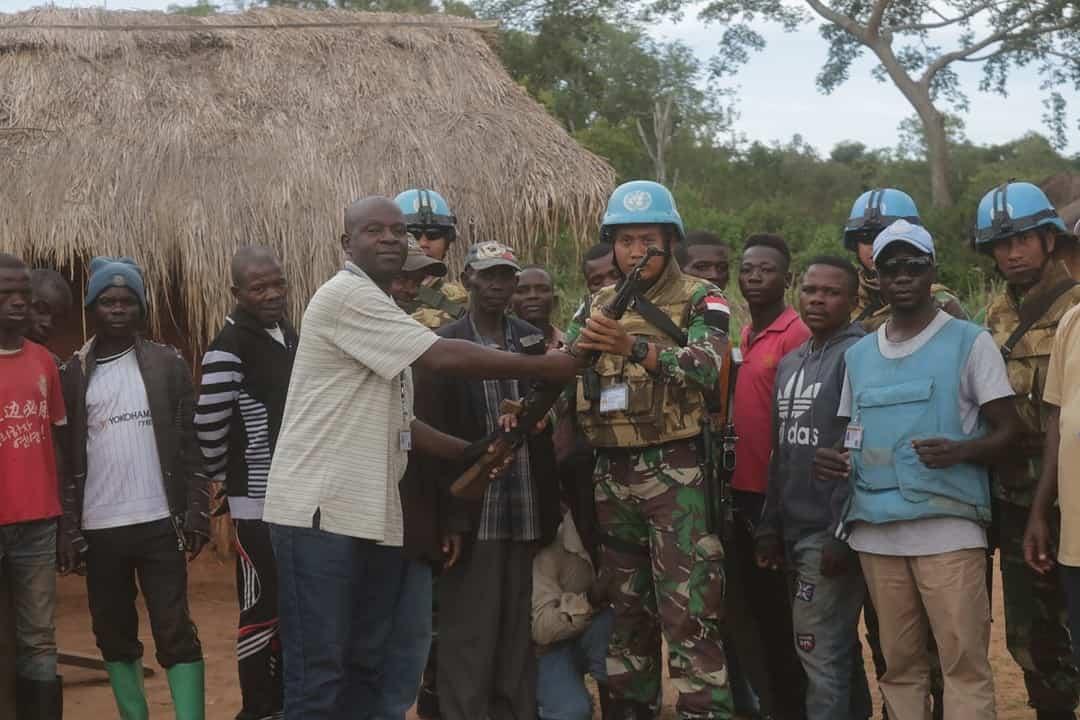 CIMIC Satgas Indo RDB MONUSCO Gerakkan Hati Kombatan Kongo Serahkan Senjata