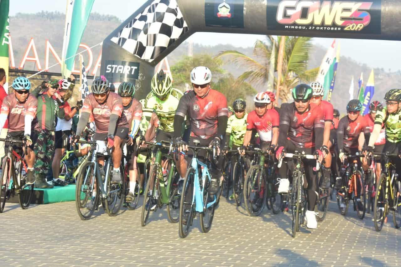 Mandalika Gowes 2019, 74 km Penuh Tantangan Eksotik