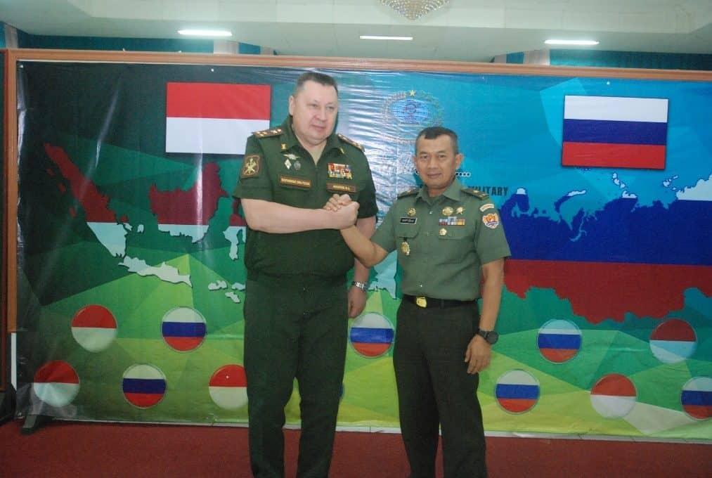 Kunjungan Delegasi Topografi AB Rusia, Tingkatkan Kualitas SDM Dittopad