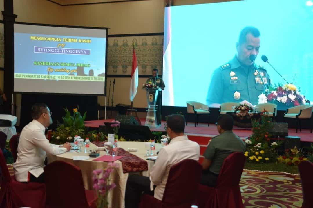 Sinergitas TNI AD dan Kominfo Ciptakan Komunikasi Baik dan Positif untuk Negeri