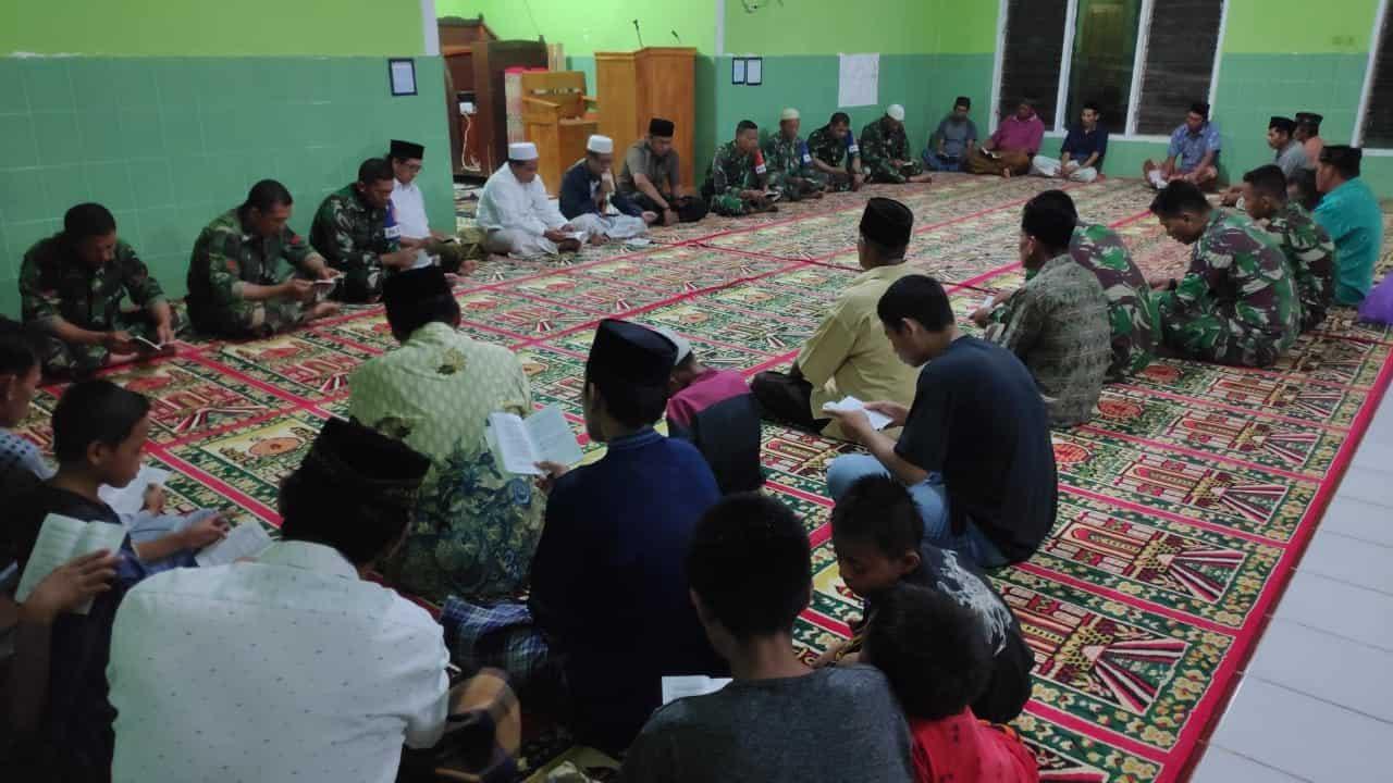 Jelang Berangkat Tugas, Satgas Yonif 433 Gelar Doa Bersama di Daerah Latihan Pra Tugas