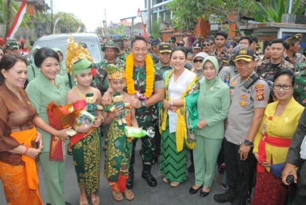 Alokasikan Rp. 1,7 M untuk TMMD ke- 106, Jenderal TNI Andika Apresiasi Pemkab Tabanan