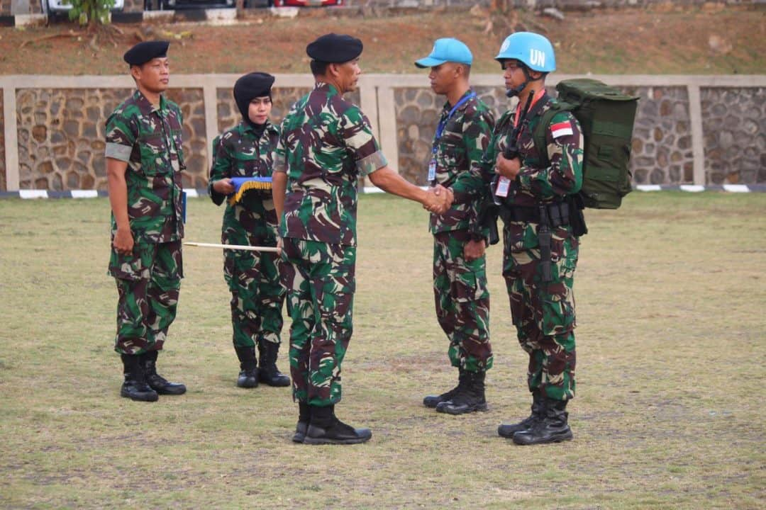 TNI Siapkan Satgas Batalyon Mekanis TNI Kontingen Garuda XXIII-N UNIFIL TA 2019