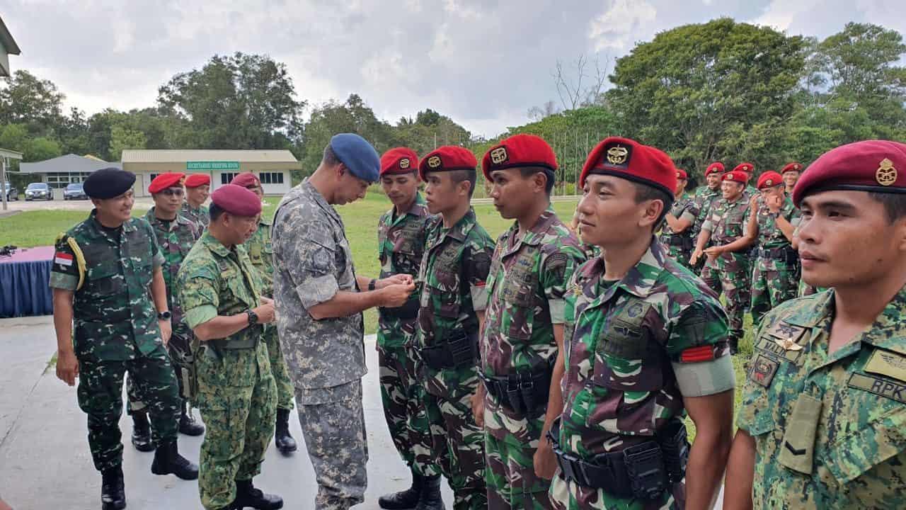 Latma Petir Sakti 2019, Tingkatkan Profesionalisme dan Hubungan Pasukan Elit Indonesia-Brunei