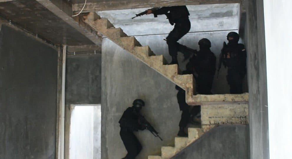 Pelihara Kemampuan Prajurit, Yonif 611 Latihan Pertempuran Kota