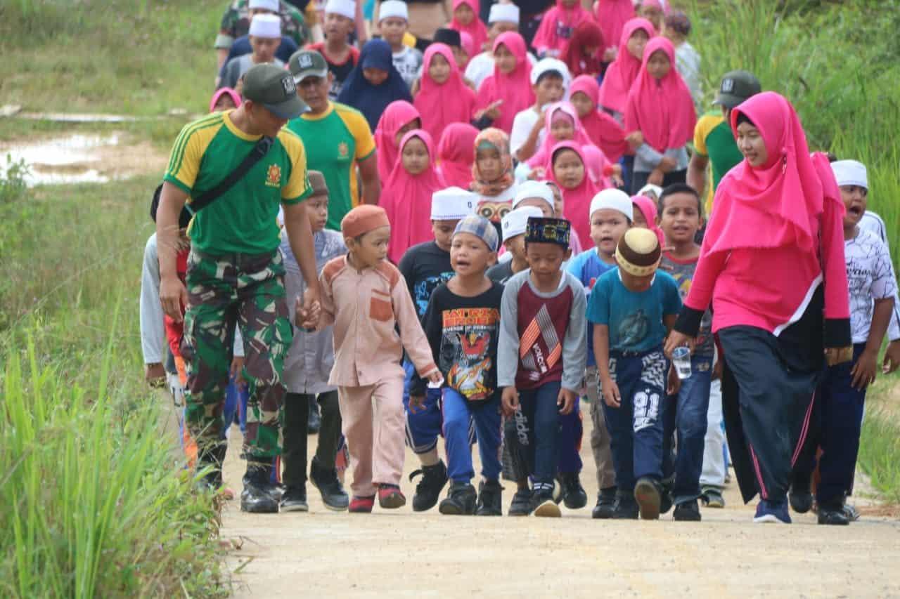 Lomba Peringatan Maulid Nabi Muhammad SAW, Wahana Satgas Yonif Raider 303 Bentuk Karakter Generasi Muda