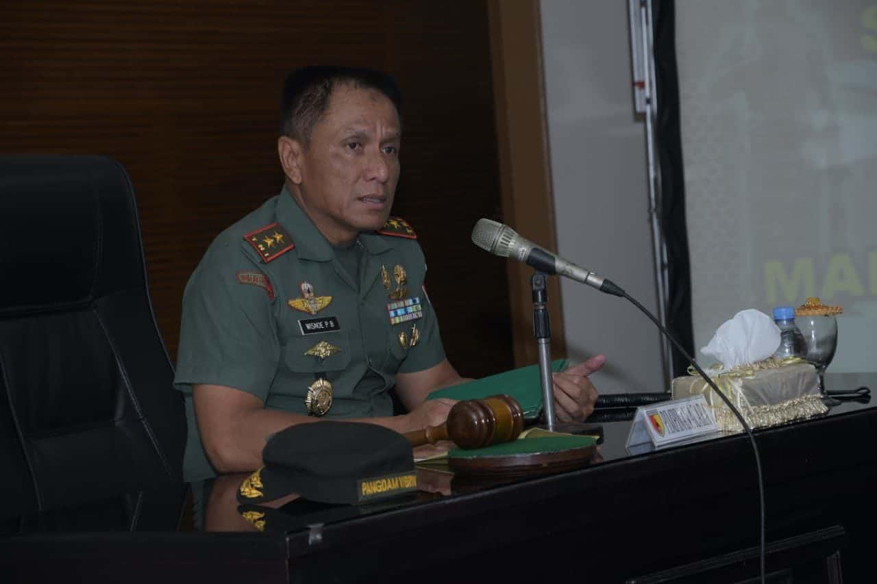 Dukung Tugas Pokok TNI-AD, Pangdam Optimalkan Fungsi Hukum