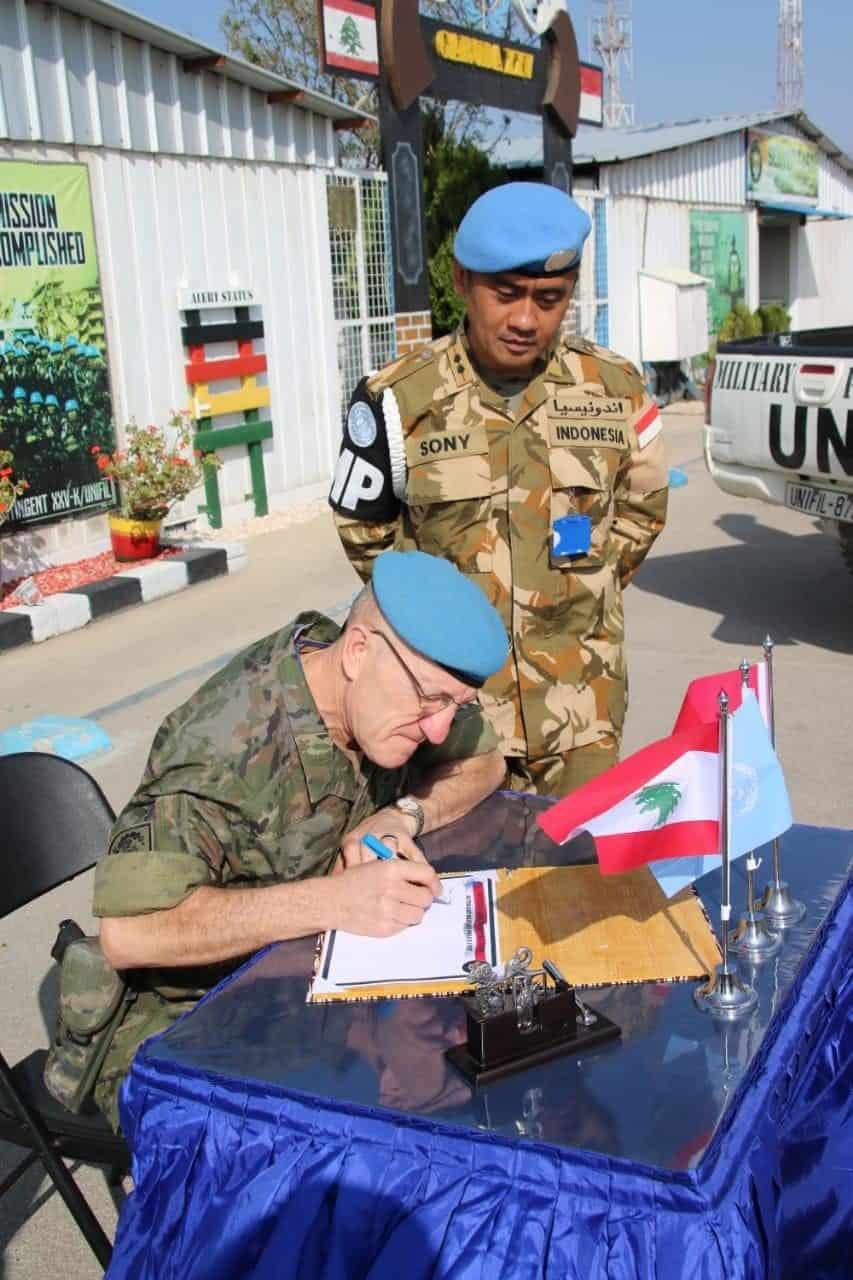 Pesan Terakhir Dansektor Timur UNIFIL, Satgas MPU Konga Jaga Profesionalisme