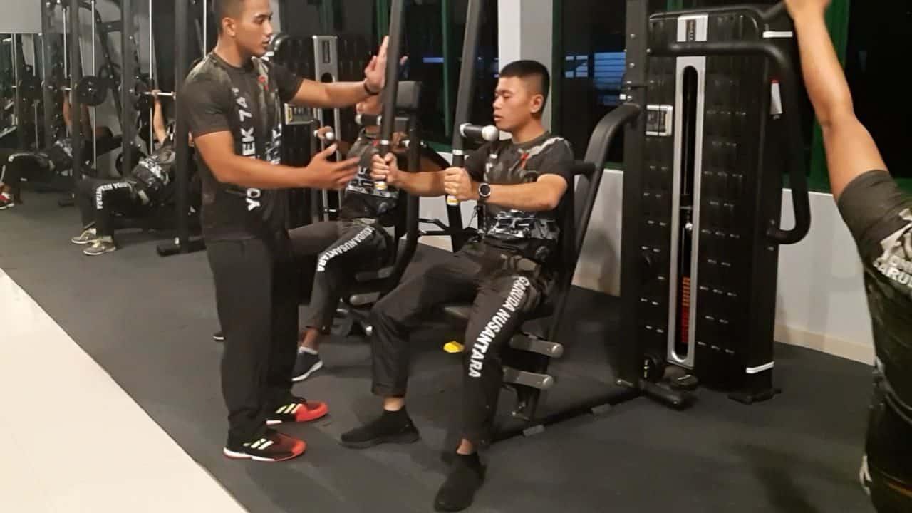 Alat Fitnes Bantuan Kasad Pacu Semangat Prajurit Berolahraga