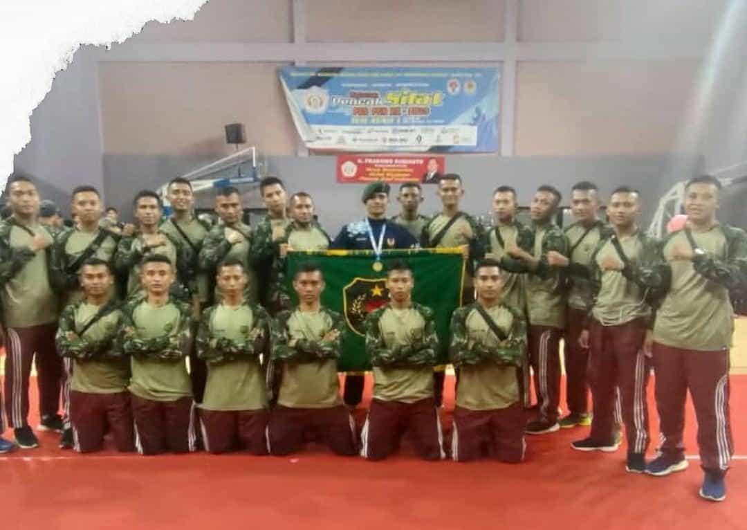 Tangguh, Serda Igi Rangga Juara Silat Pra PON XX Wilayah I