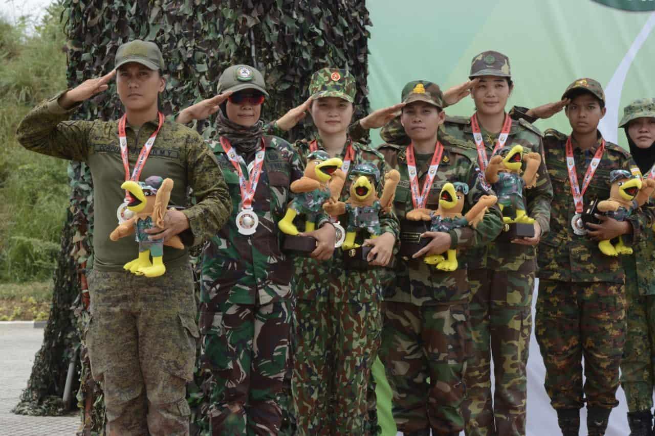Tim Bear Ambil Alih Klasemen Umum Sementara ASEAN Armies Rifle Meet (AARM) 29/2019