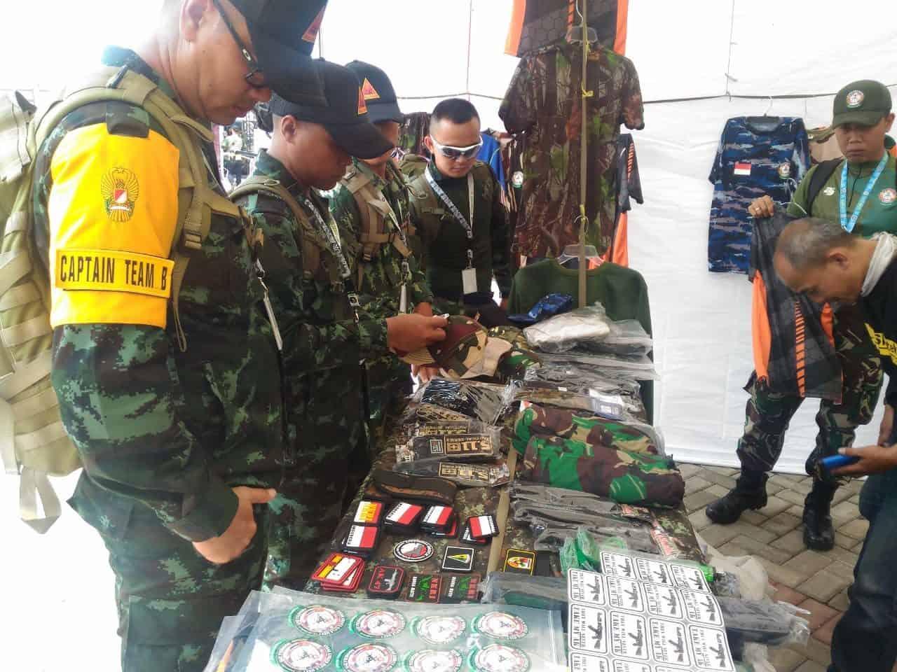 Ramai Dikunjungi, Bazar ASEAN Armies Rifle Meet (AARM) 29/2019 Wahana Bangun Kebersamaan