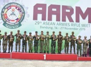 Kasad: ASEAN Armies Rifle Meet (AARM) 29/2019 Merupakan Ajang Kebersamaan, Bukan Lagi Kompetisi antar Negara