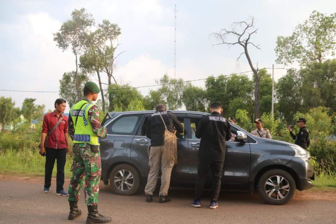Masuki Wilayah Merauke, WNA PNG Diamankan Satgas Yonif MR 411