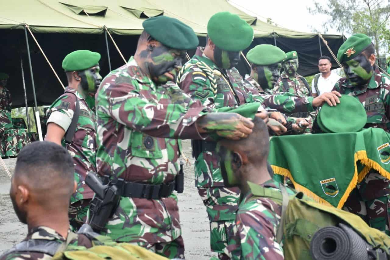 Sejarah Baru, Manokwari Lahirkan Prajurit Infanteri TNI AD
