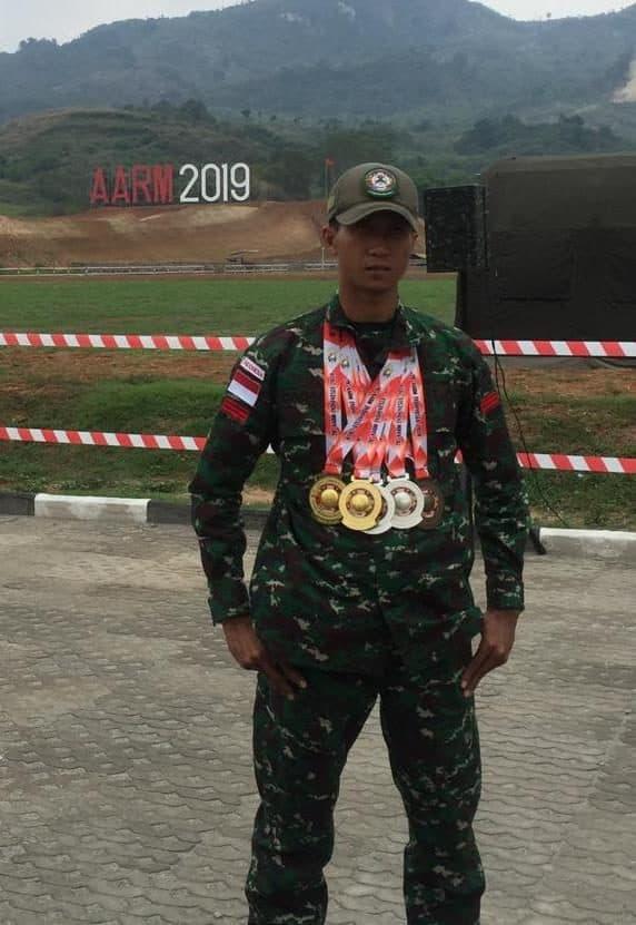 Praka Dadang, Petembak TNI AD Peraih Medali Terbanyak Kontingen Indonesia