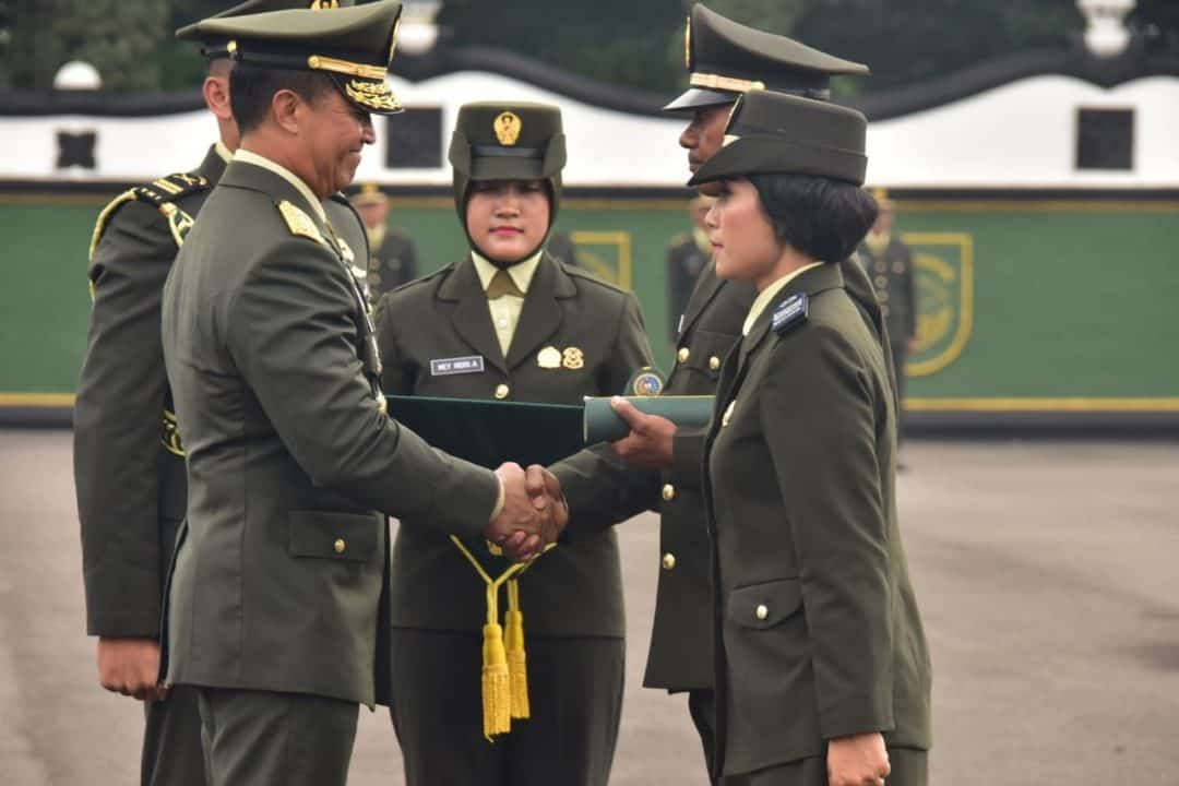 Kasad Lantik 1.000 Perwira Lulusan Diktukpa Khusus TNI AD