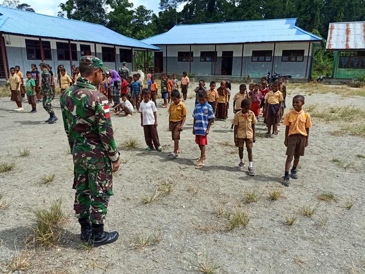 Terima Kasih Bapak TNI Bantu Mengajar