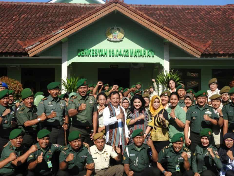Mengenang Masa Lalu, Menkes RI Kunjungi RSAD Wira Bhakti di Mataram