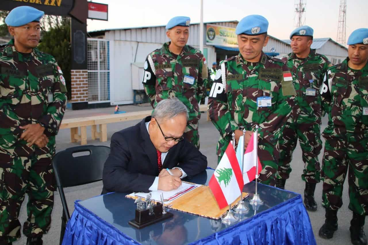 Dubes RI Untuk Lebanon Bangga Kinerja Satgas MPU Konga UNIFIL