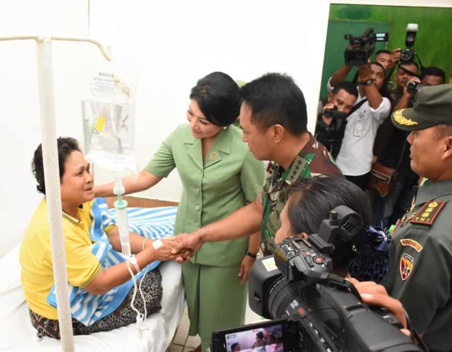 Status Meningkat, Rumah Sakit Tentara (RST) Wirasakti Kupang Dikunjungi Kasad