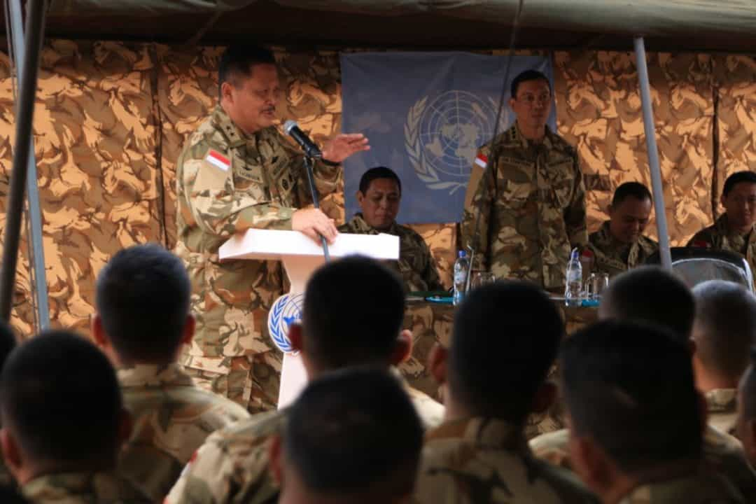 Asops Kasad : Setiap Prajurit Harus Menyatukan Tekad, Demi Keberhasilan Tugas Satgas Kizi TNI