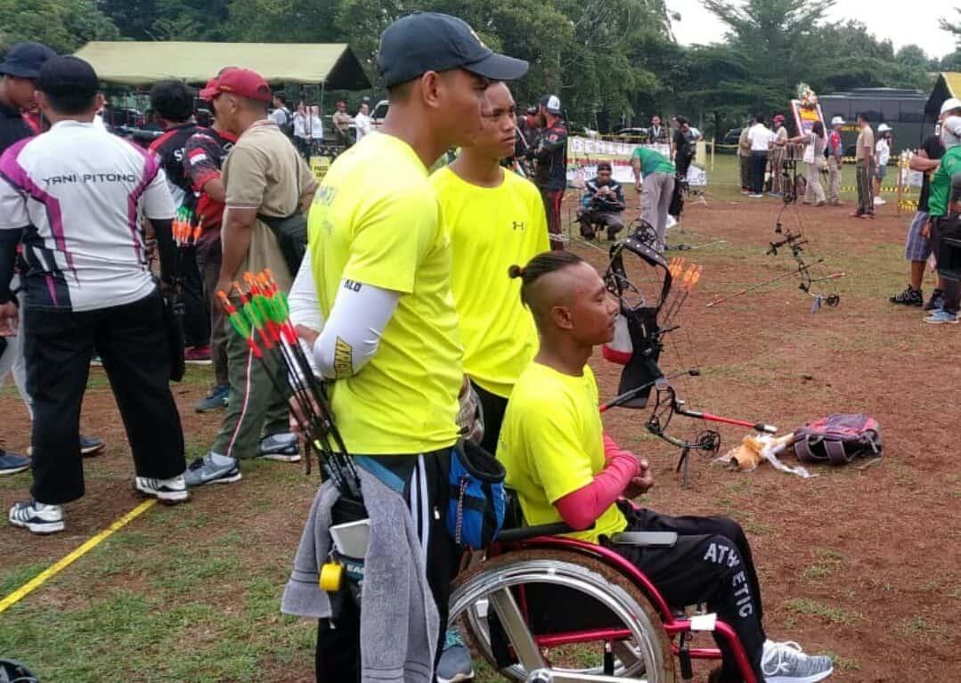 Sempat Frustasi, Atlet Difabel Kalteng Ikuti Kuad Archery Open di Makopassus