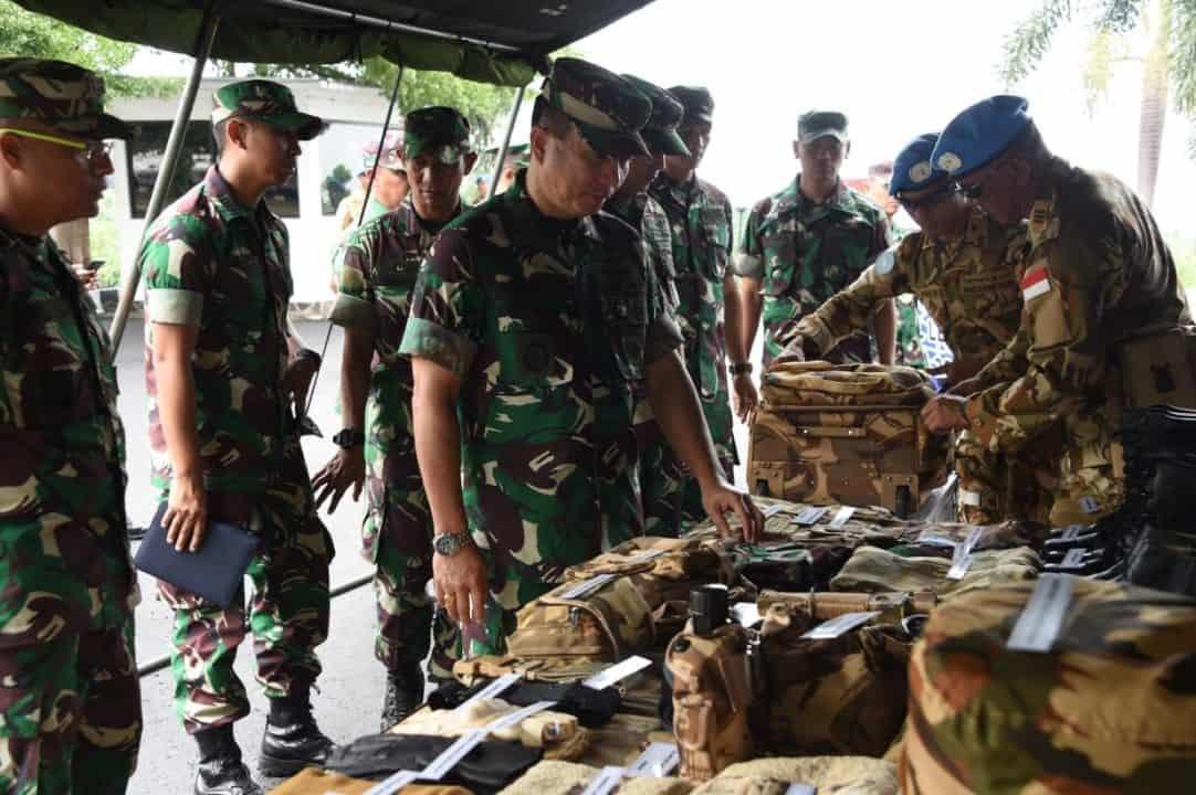 8 Satgas TNI Siap Berangkat Jalankan Misi Konga UNIFIL