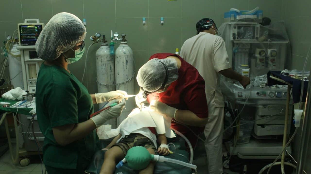 Peduli Anak Bangsa, Denkes Ternate Gelar Operasi Bibir Sumbing Gratis