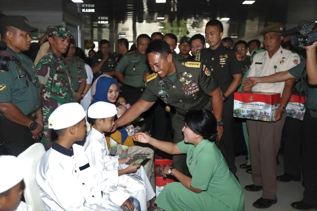 41 ribu lebih Peserta ikuti Bakti Sosial Kesehatan Hari Juang TNI AD 2019
