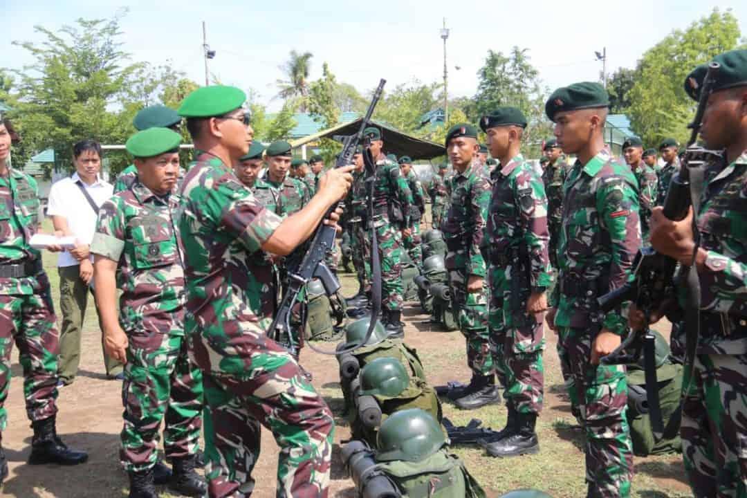 Jamin Kesiapan Operasi, Pangdam IX Cek Yonif Raider 900/SBW