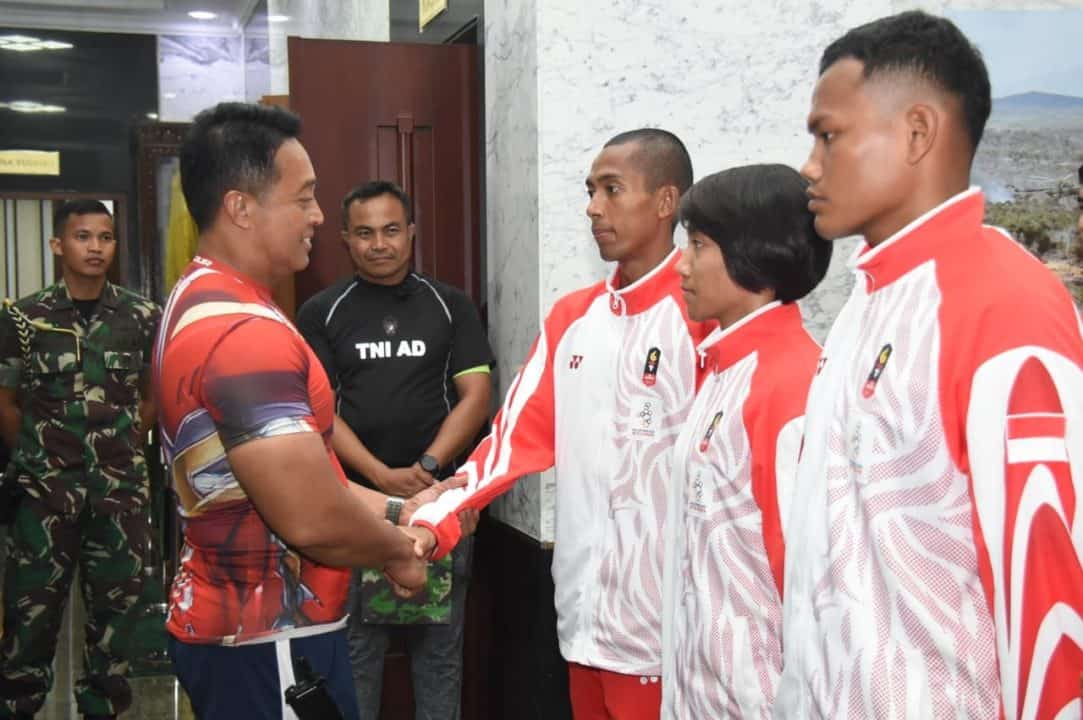 Persembahkan 34 Medali Sea Games 2019, Atlet TNI AD Terima Penghargaan Kasad