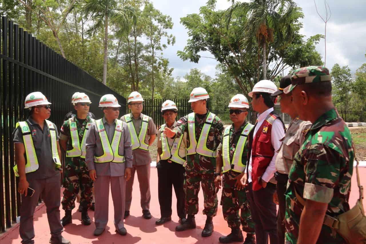 Pastikan Kedaulatan Indonesia, Satgas Yonif MR 411Gelar Patroli Patok Batas Negara