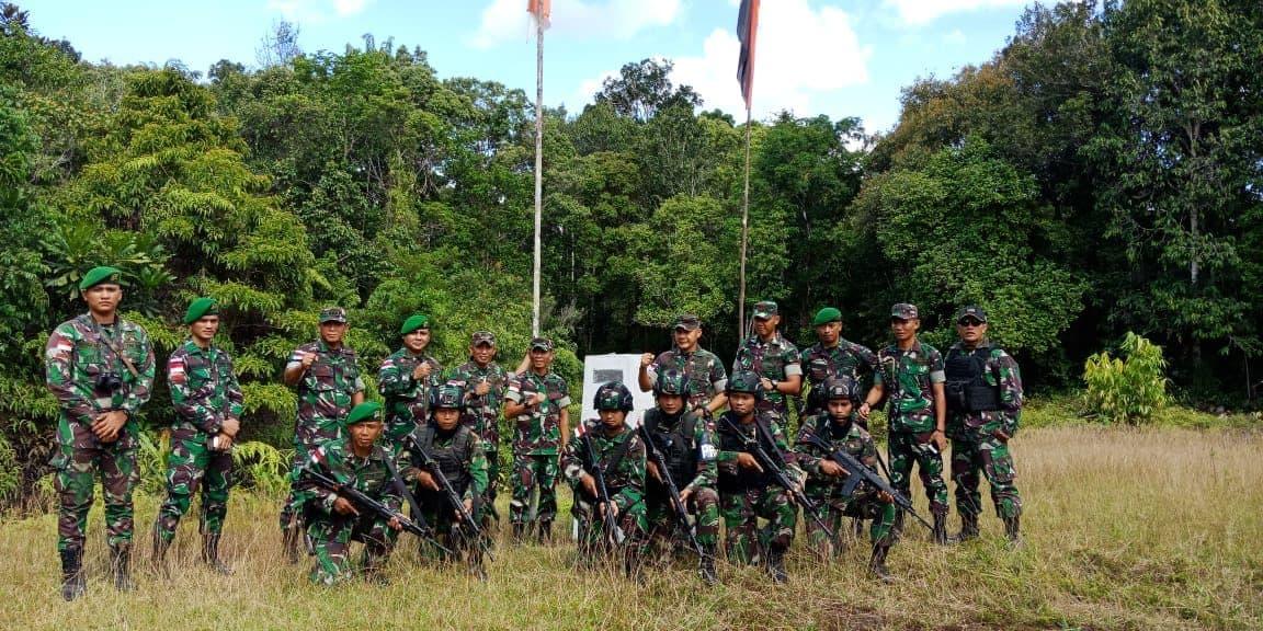 Bersama Lembaga Adat, Danrem 174 Cek Patok Batas Negara RI-PNG