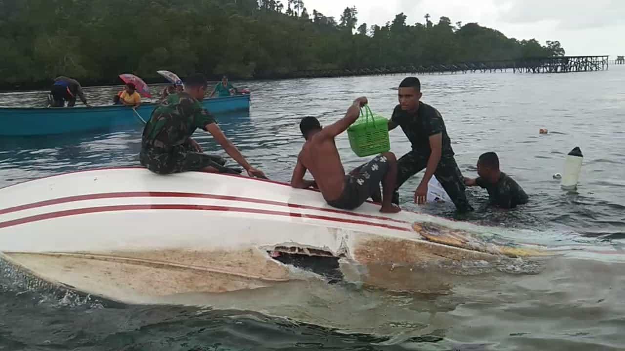 Heroik, 15 Penumpang Speedboat Diselamatkan 3 Taruna Akmil dari Papua
