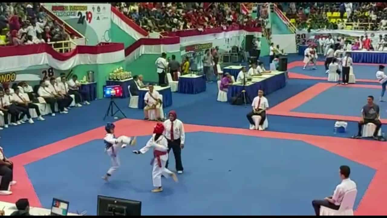 Membanggakan, Anak Anggota Kodim Pekalongan Raih Medali Kejurnas Taekwondo