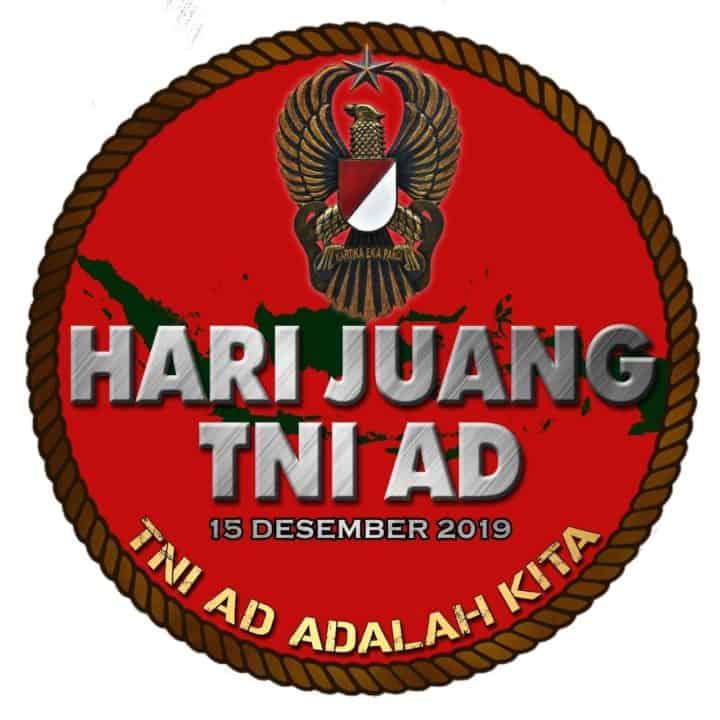 LOGO DAN BANNER HARI JUANG TNI AD