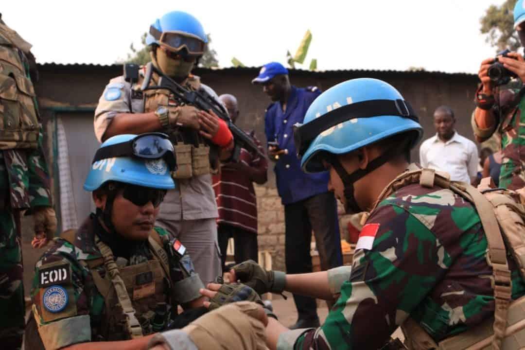 Selang Sehari, Kembali Warga Bimbo Serahkan Granat Kepada Satgas Kizi Konga Minusca