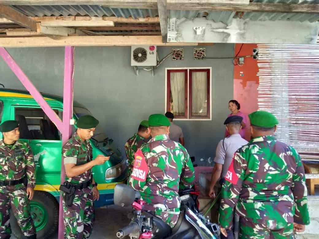 Patroli Gabungan Satgas Yonif 136, Jamin Keamanan Maluku