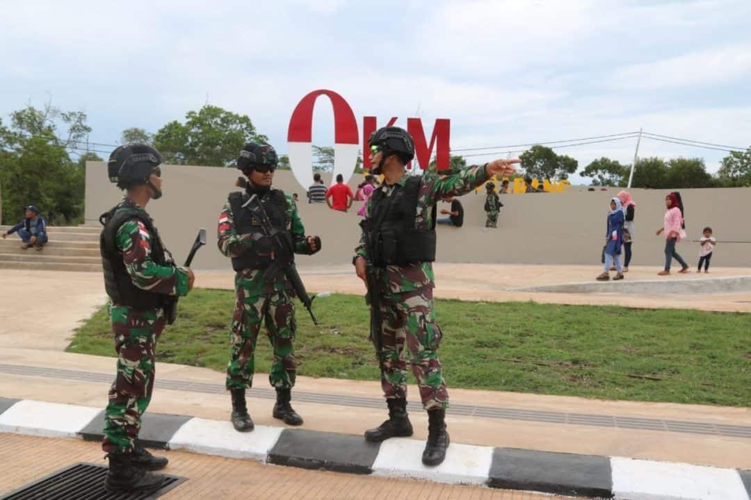 Jamin Keamanan di Perbatasan RI-PNG, Satgas Yonif MR 411 Tingkatkan Penjagaan
