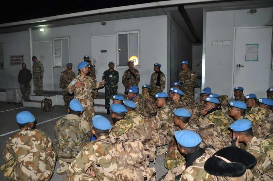 Satgas Yonmek TNI Konga XXIII-M/UNIFIL Akhiri Penugasan Sebagai Peacekeepers di Lebanon