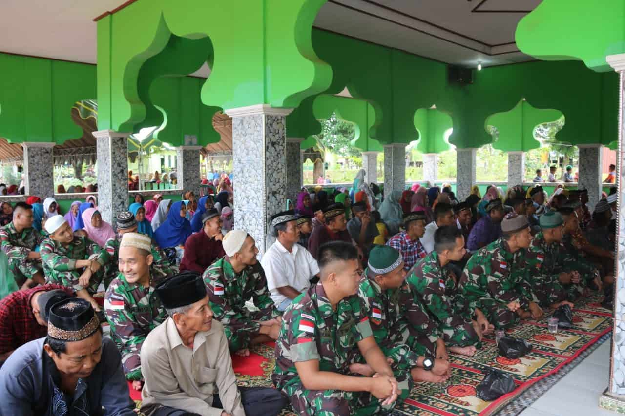 Pengajian Akbar, Wahana Silaturahmi dan Bangun Kerukunan Warga Perbatasan