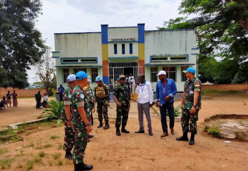 Diserang 100 Warga, Staf dan Aset UN Berhasil Diselamatkan Satgas Indo RDB MONUSCO