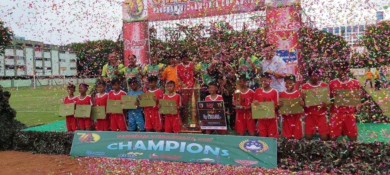 Turnamen Piala Pangdam V/Brw Jaring Bibit Pesepak Bola.