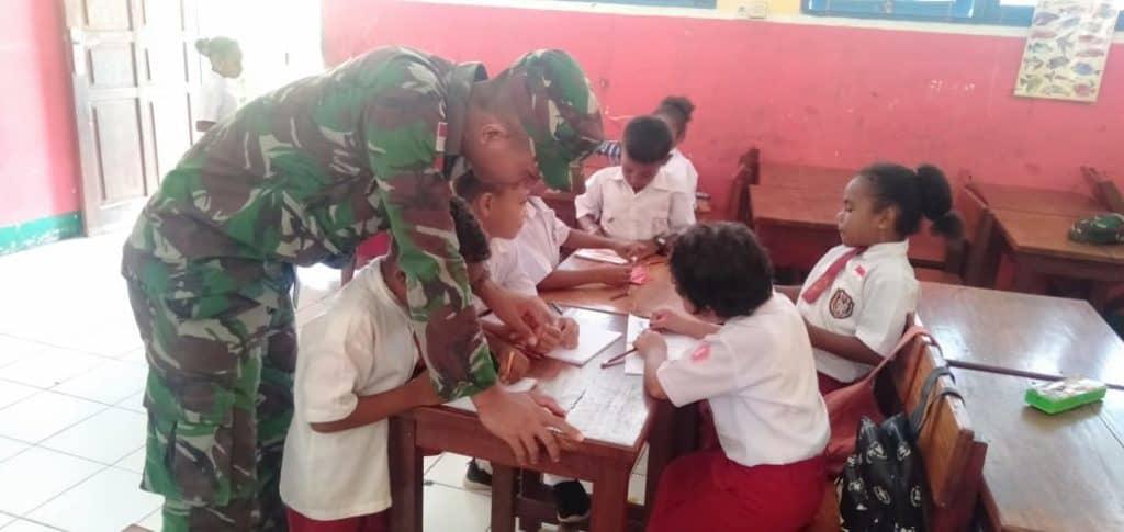 Margaretha: Semoga Bapak TNI Terus Mengajar
