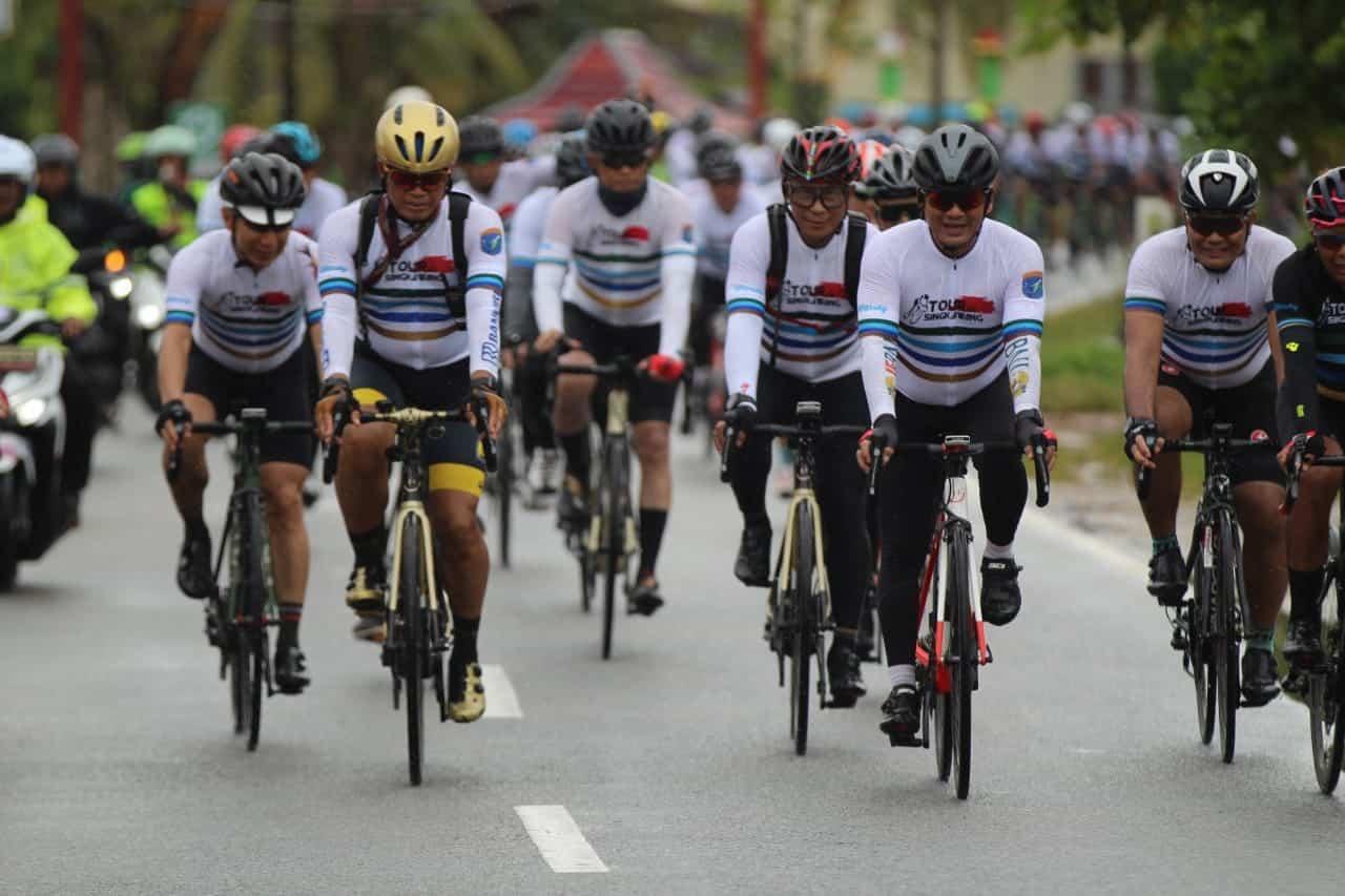 Tour De Singkawang G150K, Olahraga dan Bakti Sosial