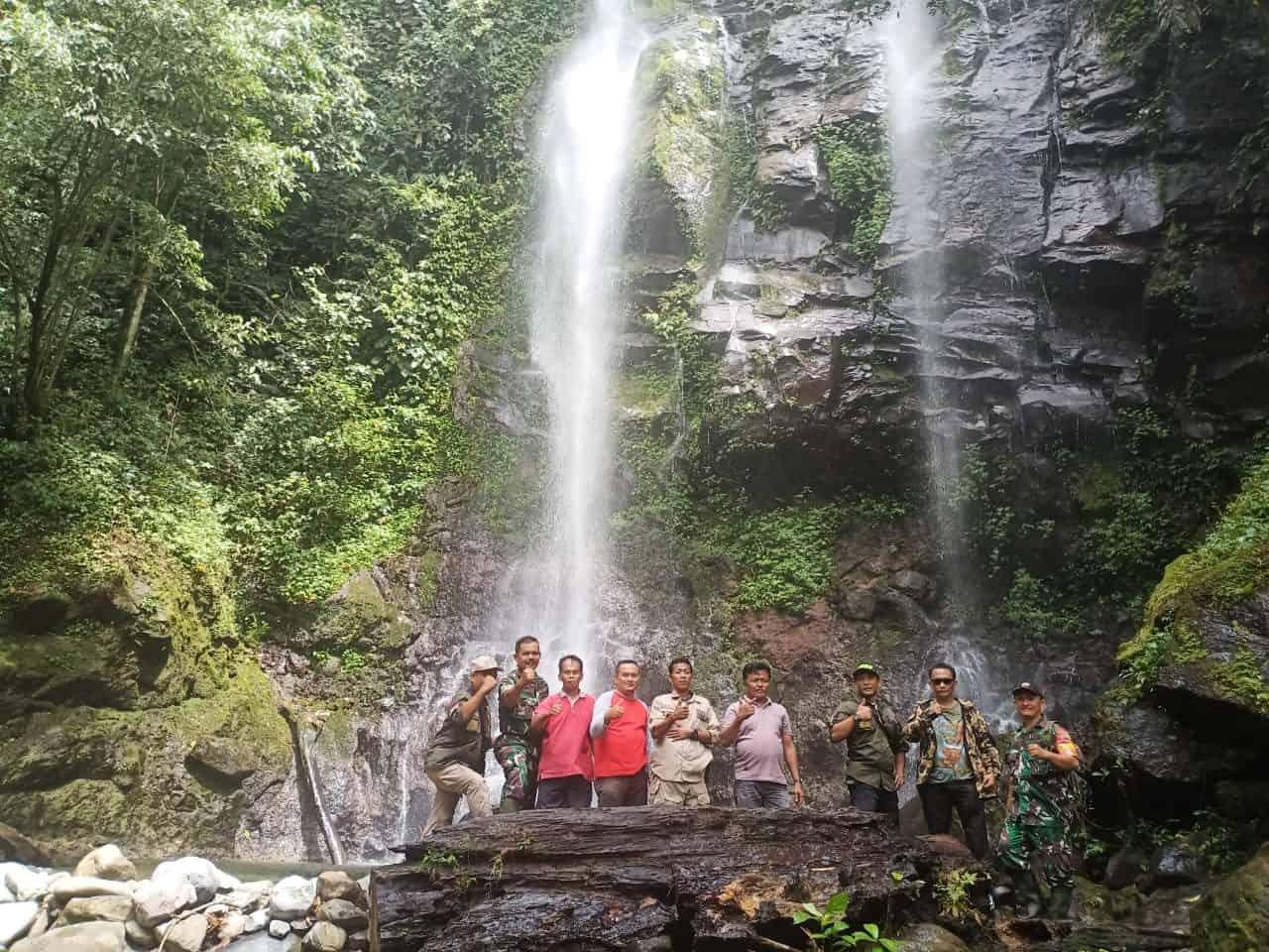 Temukan Air Terjun Duo Bidadari, Kopda Ulil Amri Dorong Wisata, Ekonomi Warga dan Kelestarian Alam