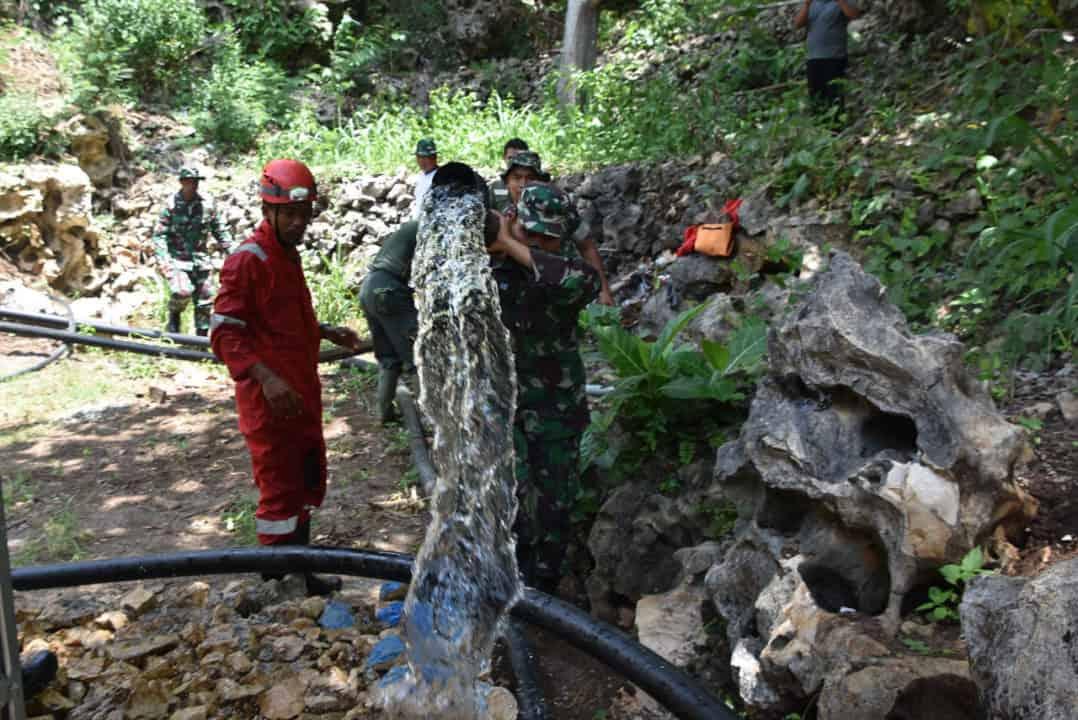 Pompa Hidrolik Kartika, Bantu Kodim Gunungkidul Wujudkan Harapan Air Bersih Warga