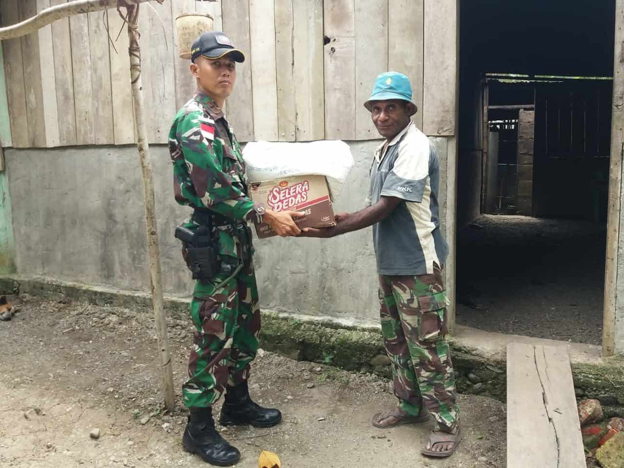 Rekatkan Persaudaraan, Satgas Yonif 509 Kunjungi Warga Binaan